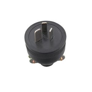 IP54 Waterproof VDE 15A 3pin Australian Plug Electrical Plug Top (100501) pictures & photos
