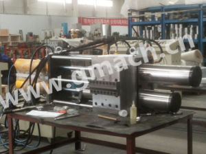 Backflush Polymer Filtration System for Plastic Recycling Granulator Extruder pictures & photos