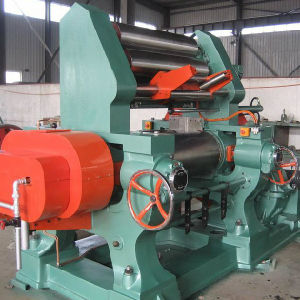 Two Roll Rubber Mixing Mill with Hardened Tooth Gear pictures & photos