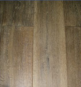 Brushed Oak Hardwood Parquet / Wood Flooring pictures & photos