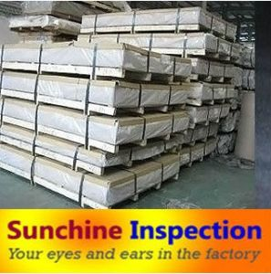 Aluminium Sheet/Construction Metarial Inspection/Inspection Service pictures & photos