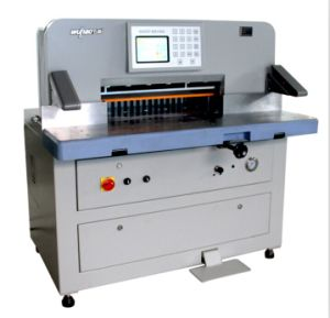 Heavy Duty Hydraulic Program Paper Cutter Machine (680DP) pictures & photos