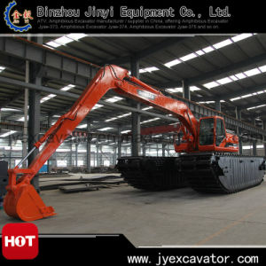Land and Water Dredging Excavator with Amphibious Excavator Jyae-22
