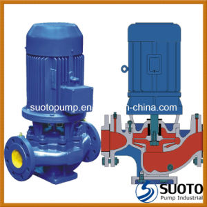 Cast Iron Vertical Inline Pump (ISG) pictures & photos