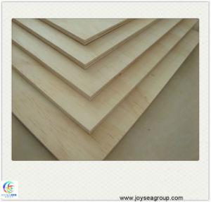 Building Material E0 E1 Glue Excellent Grade Pine Veneer Plywood pictures & photos