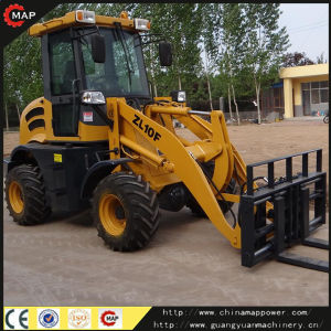 1.0ton Front Wheel Loader pictures & photos
