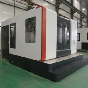2 Table CNC Horizontal Machining Center (H100/1) pictures & photos