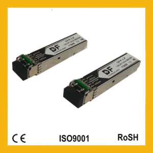 1.25g LC Dual Fiber 80km CWDM SFP/Optical Transceiver pictures & photos