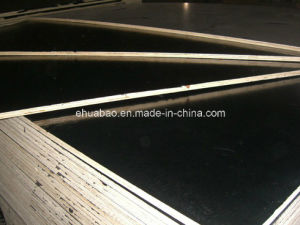 12mm Poplar Core Black Film Faced Plywoods pictures & photos