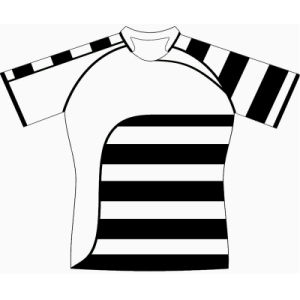 Sublimation Rugby Football Top Jersey Uniform with Logos pictures & photos