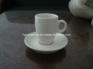 Porcelain Cup & Saucer, Porcelain Mug with Saucer pictures & photos