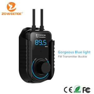 Zoweetek-New Arrival Universal Wireless FM Car Kit for Smart Phone pictures & photos