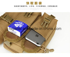 Outdoor CS Army Tactical Waist Bag with Water Bottle Holder pictures & photos