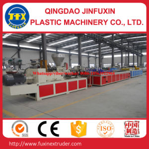 Wood Plastic Co-Extrusion Profile Extruder Machine pictures & photos