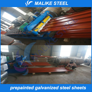 Color Corrugated Metal Roofing Sheets of Construction Materials