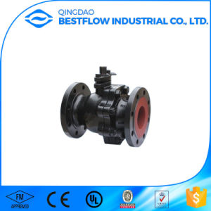 Dn50 Handle Ductile Iron Ball Valve pictures & photos