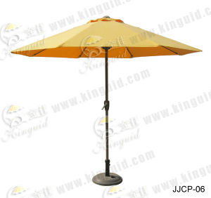 Central Pole Umbrella, Outdoor Umbrella (JJCP-06) pictures & photos