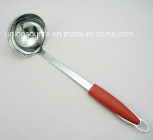 430ss Soup Ladle for Kitchenware with Hangtag pictures & photos