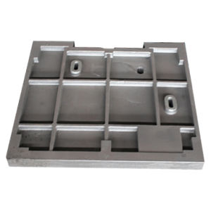 Customized High Quality Textile Machine Parts Gray Cast Iron / High Strength Square Wallboard