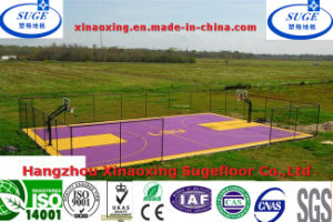 Extreme Durability Interlocking Suspended Basketball Sport Flooring pictures & photos