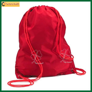 Promotion Durable Promo Polyester Drawstring Backpack (TP-dB070) pictures & photos