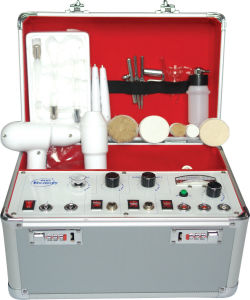 5 in 1 Function High Frequency/Galvanic/Vacuum Beauty Equipment (B-8151) pictures & photos