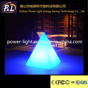 Colorful Waterproof Decorative Small LED Pyramid Lamp pictures & photos