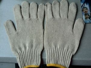 420gram Cheap Hotsale Working Knitting Gloves with Cotton Material pictures & photos