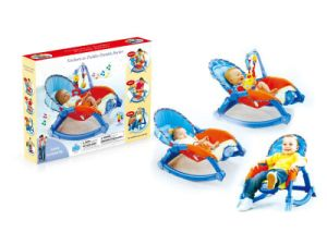 Adjustable Cradle & Soothe Soft Baby Bouncer/ Rocker with Music and Vibration En12790 Baby Trace Brand 63500 pictures & photos