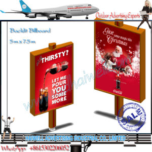 Nice Design Stand Bright Electronic City Poster Banner Backlit Billboard pictures & photos