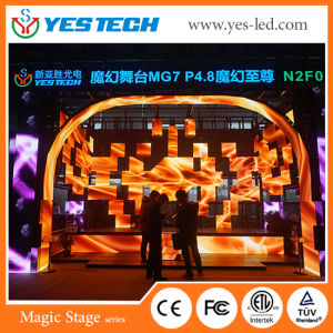 High Precision P4.8mm Indoor/Outdoor Full Color Rental LED Video Board pictures & photos