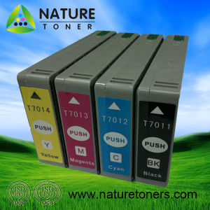 Compatible Ink Cartridge T7011/T7012/T7013/T7014 for Epson Printer pictures & photos
