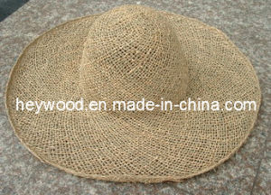 twisted sea grass straw hat body pictures & photos