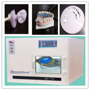 Portable Dental Unit Hot Sale JD-T4 Dental CAD Cam Milling Machine pictures & photos