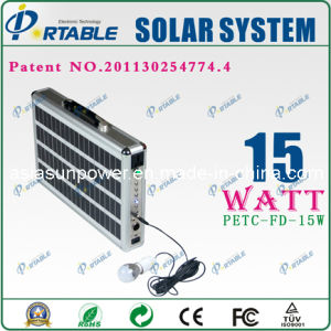 Portable Solar Power System Emergency Charger (PETC-FD-15)