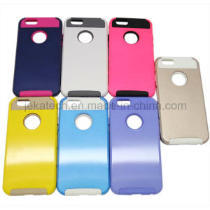 4.7 Inch 2 in 1 Hybrid Plastic Hard Case for iPhone 6 pictures & photos