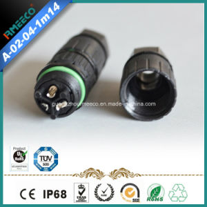 IP68 Waterproof Connector 3 Pins for Extention Cable