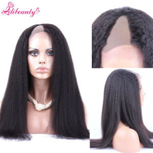 8A Grade Brazilian Virgin Hair Full Lace U Part Human Hair Wigs pictures & photos