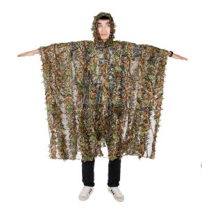 Leaf Camouflage Cloak for Military Forest Design Camouflage Ghillie Suit Cl34-0075 pictures & photos