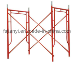 Strong Double Ranking H Frame Scaffolding System pictures & photos