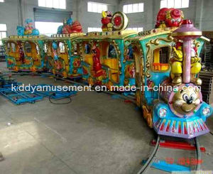 Factory Direct Supply Amusement Machine Carnival Ride Electric Train