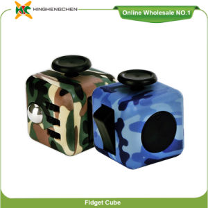 fashion Fidget Cube Stress Cube Puzzle 3X3X3 Silicone Ice Cube Tray Speed Cube Toy pictures & photos