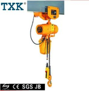 China Electric Chain Hoist With Motorized Trolley