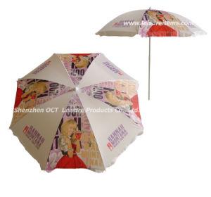 Full Color Imprinting Beach Umbrella (OCT-BUAD5) pictures & photos
