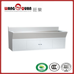 Closed Luxury European Style Stainless Steel Sink with Under Drawer pictures & photos
