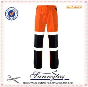 Cheap OEM Road Safety Workwear Work Pants Reflective pictures & photos