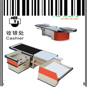 Grocery Store Checkout Cash Counter Desk pictures & photos