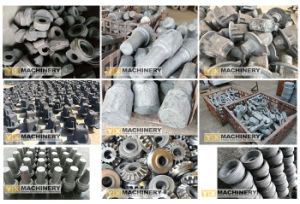 Metal Valve Pump Hydraulic Truck Mining Logging Forged Forging Parts pictures & photos