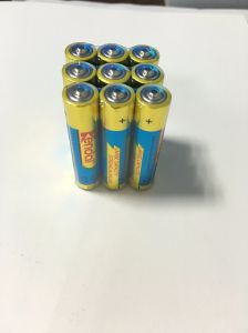 3PCS Shrink 1.5V Alkaline Battery AAA Lr03 pictures & photos