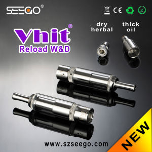 Best Selling Original Tank Vaporizer Vhit Reload W&D with Chamber pictures & photos